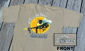 Colorful Large Graphic Seabee T-Shirt