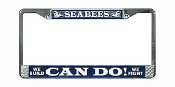Seabee License Plate Frame-Can Do