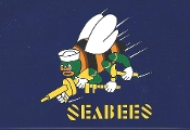 Seabee Flag Decal