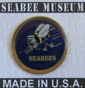Seabee Hat or Lapel Pin