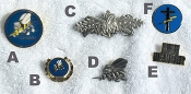 Misc. Seabee Pins & Rate Pins