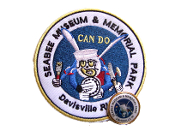 Seabee Museum Patch and Pin